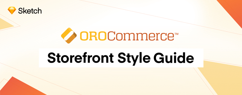 A storefront style guide banner