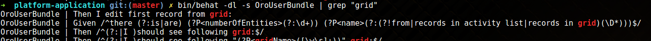 Grep flash messages in the console